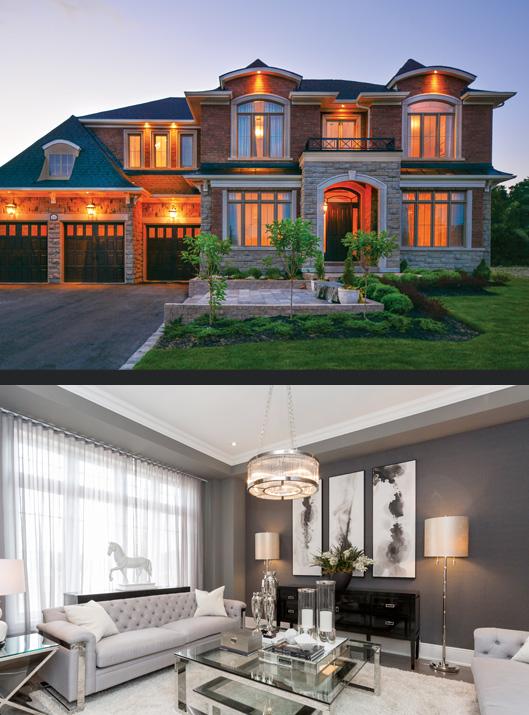 Cavendish model home